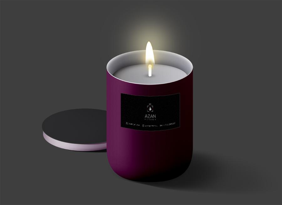 candleAzanPerfume