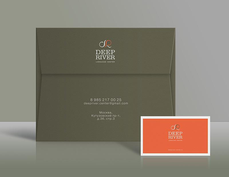 Free Envelope Business Card Mockup PSD